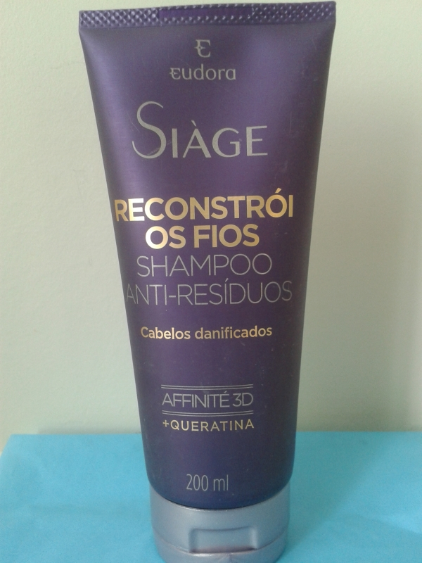 shampoo anti resíduos eudora