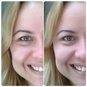 base maybelline pure makeup antes e depois