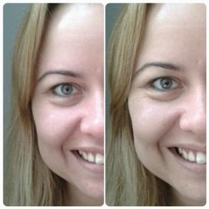 cc cream olay antes e depois