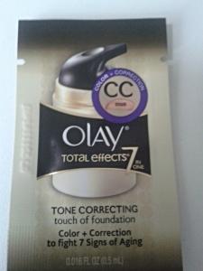 cc cream olay sache