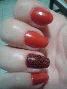 isomeria esmalte vermelho