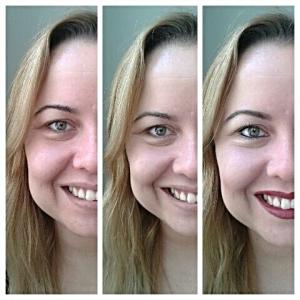 bb cream latika antes e depois