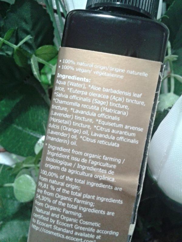 tônico facial de açaí IKOVE3