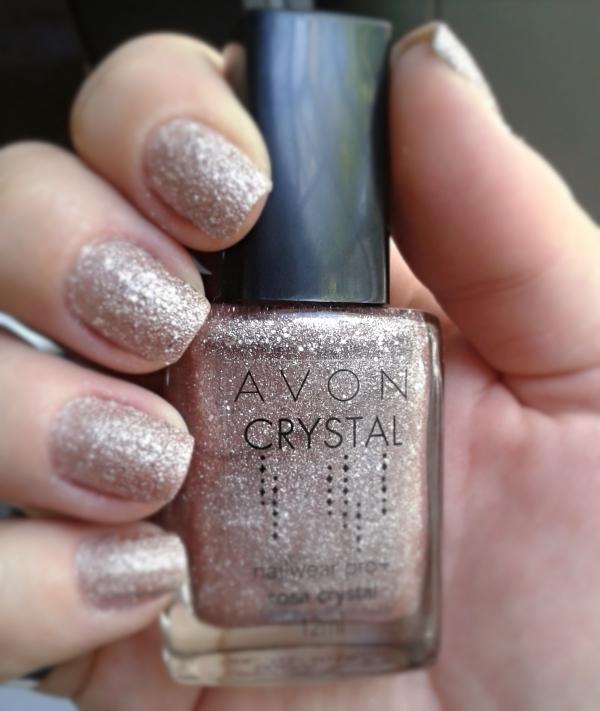 esmalte avon rosa crystal 11