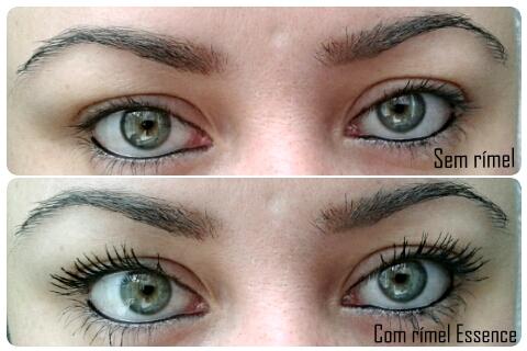 rímel essence olhos