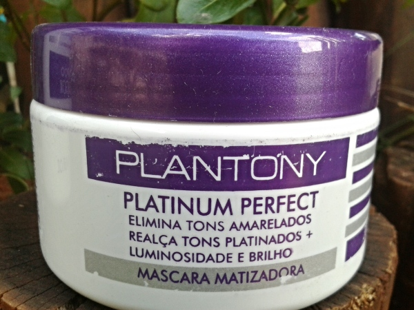 Plantony cosméticos máscara matizadora platinum perfct