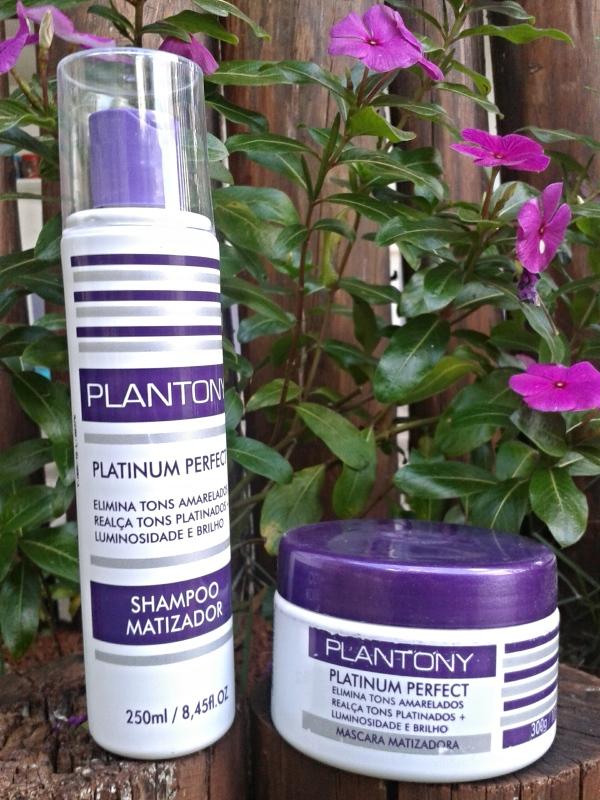 Plantony cosméticos shampoo e máscara matizadora
