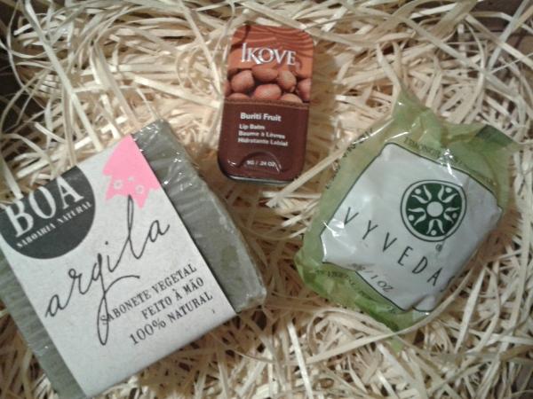 ritual box - sabonetes e lip balm