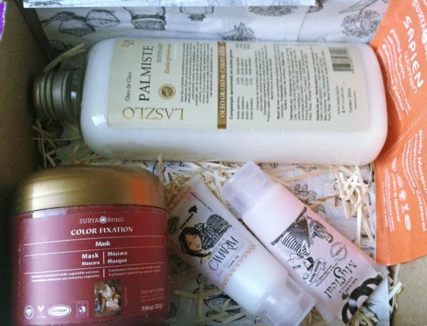 ritual box caixinha com produtos