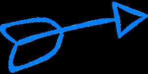 seta azul lado 1