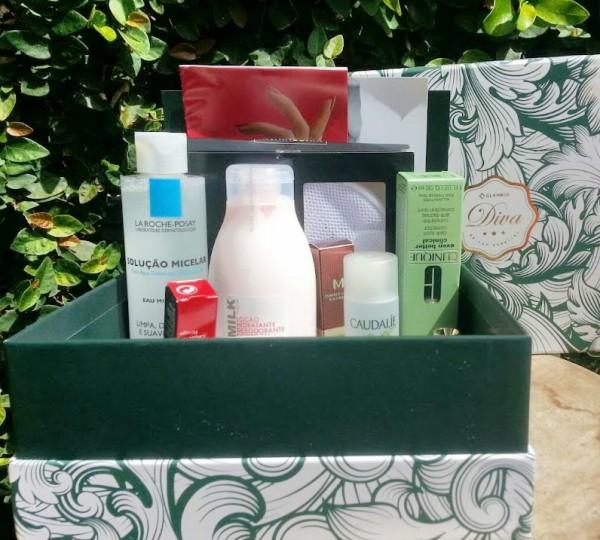 glambox diva grace - caixa com os produtos